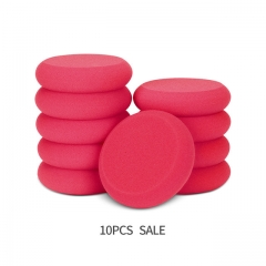 10Pc Red Sof UFO Hand Polishing Pad