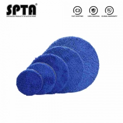 SPTA 3 4 5 6 7 Inch Microfiber Car Polishing Pad For DA/RO Polisher