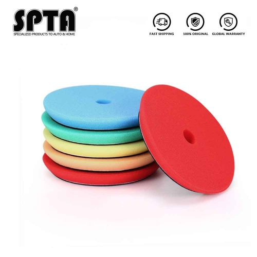 SPTA Ultra-thin 20mm Car Polishing Pad 150mm Polishing Pads & Buffing Pads For Dual Action Polisher Rotary Polisher