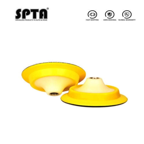 "SPTA 5""/6"" Backing Plate Backer Pad Hook&Loop Rotary Polisher Car Polishing Buffing Buffer Pad Professional -- Select Size"