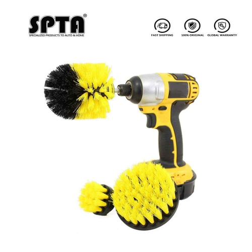 SPTA Bathroom Surfaces Tub, Shower, Tile and Grout All Purpose Power Scrubber Cleaning Kit