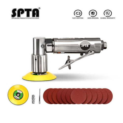 SPTA 1inch/2inch/3inch Air Palm Sander Sanding Sets