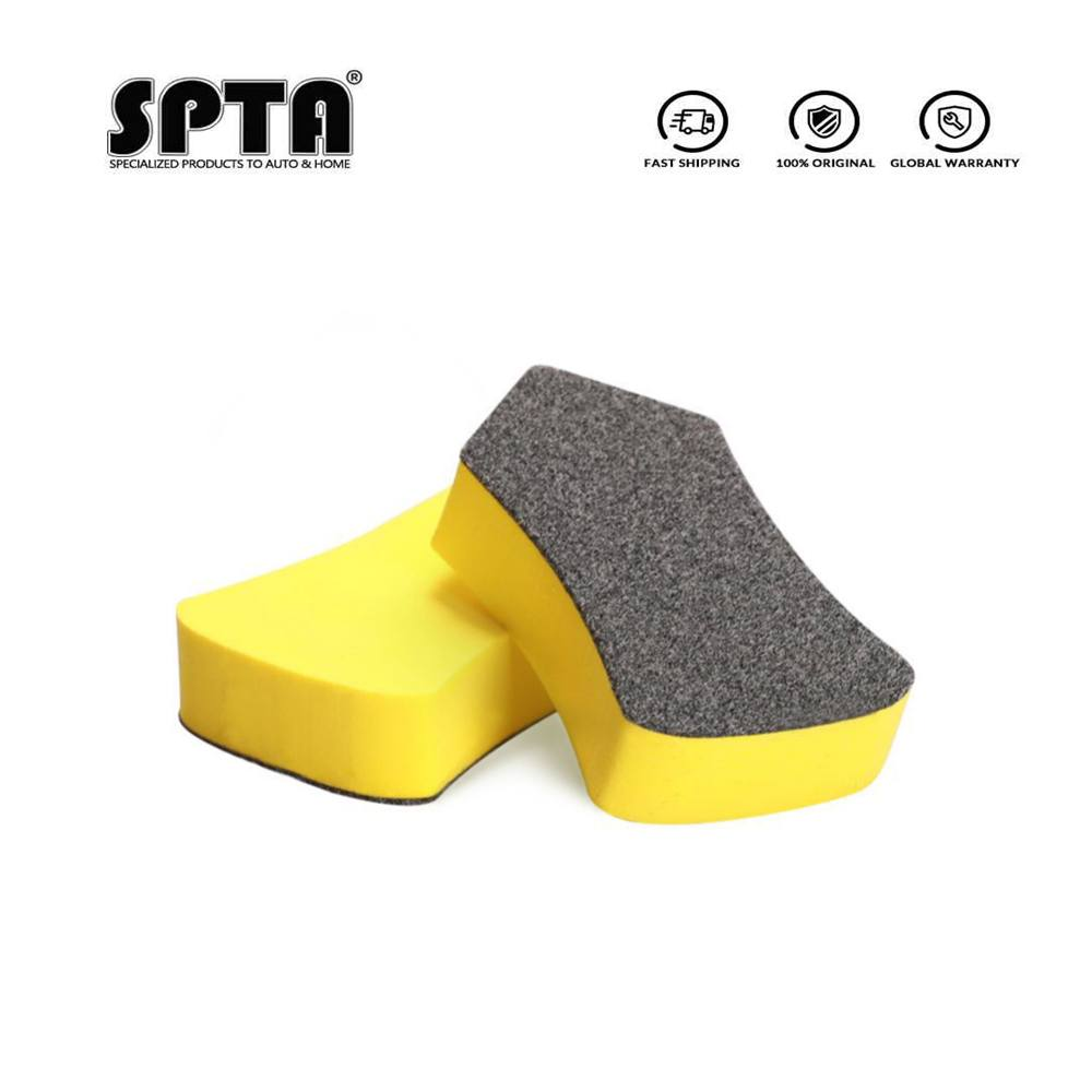 SPTA Car Multifunctional Nano Cleaning Brush Leather Seat Car Interior Leather Decontamination Glass Cleaning Brush