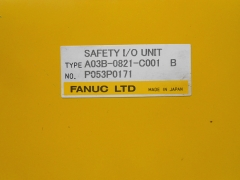 FANUC Optical Fiber Cable i/o board unit A03B-0821-c001