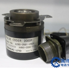 cnc parts 90% new fanuc coder A290-0304-T111 100% test