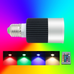 10W RGB LED Spot Light with remote controller fit for Home