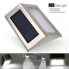 Waterproof Outdoor Wall Solar Powered Motion Sensor Lights fit for Home,Street, Garden and ect
