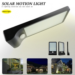 IP65 Waterproof Motion Solar LED Lights,Wireless Solar motion light Security fit for lighting outdoor