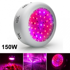 150W Full Spectrum UFO LED Grow Lights Fit for Indoor Plants, Seedlings Growing