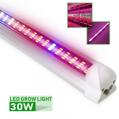 [Pack of 25] T8 30W LED Grow Light Tube,Plant Light Bar Best for Greenhouse Hydroponic Indoor Plant Garden Growing Flowering
