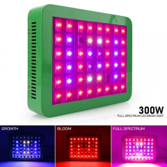 300W Full Spectrum LED Grow Lights ,48PCs Chips fit  for Indoor Plants, Seedlings Growing