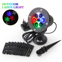 9 Slides,Waterproof Christmas Laser Projector Lights  Best for Outdoor and Indoor
