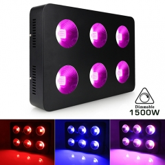 1500W COB Full Spectrum LED Grow Lights for Greenhouse Hydroponic Indoor Plants Veg and Flower