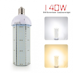 Super Bright 140W LED Corn Light Bulb, E40 Large Base for Indoor Outdoor, Street and Large Area Lighting