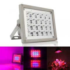 40W Waterproof LED Plant Grow Flood Light,20PCs Integrated LED Chips , Fit for Greenhouse Hydroponic Garden Plant