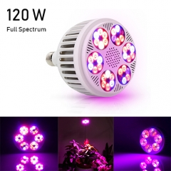 120W Full Spectrum Led Grow Light 36PCs SMD3030 Chips fit for Indoor Plants Vegetables,Vegetable,Flowers