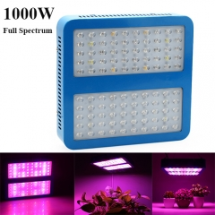 1000W Full Spectrum LED Grow Lights  for Indoor Plants, Seedlings Growing,100PCs Chips led grow light