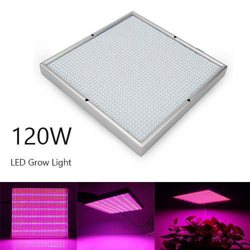 120W LED Grow Light ,Plant Growing Lights Lamp Panel with Red&Blue Spectrum for Indoor Plants, Seedlings Growing,1365PCs SMD2835 Chips led grow light