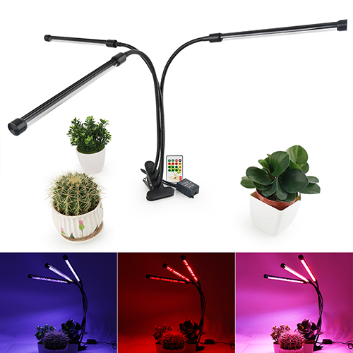 2018 Newest 36W Three Heads Full Spectrum Intelligent LED Grow Desk Light For Indoor Plants