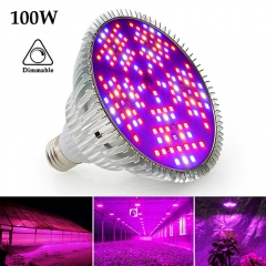 150LEDs 100W Three Modes Full Spectrum LED Grow Light  Best for Indoor Plants