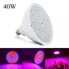 40W Led Grow Light,352PCs 2835Chips fit for Indoor Plants Vegetables,Flowers, Greenhouse