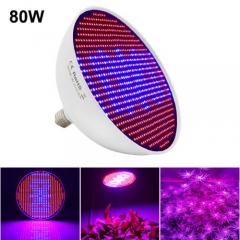 80W Led Grow Light,800PCs 2835 Chips fit for Indoor Plants Vegetables,Flowers, Greenhouse
