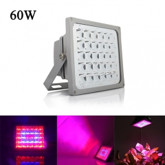 60W Waterproof LED Plant Grow Flood Light,30PCs Integrated LED Chips , Fit for Greenhouse Hydroponic Garden Plant
