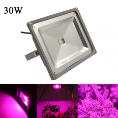 30W Waterproof LED Plant Grow Flood Light,50PCs Integrated LED Chips   Waterproof LED Grow Floodight Fit for Greenhouse Hydroponic Garden Plan