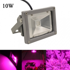 10W Waterproof LED Plant Grow Flood Light,9pcs Integrated LED Chips,Fit for Greenhouse Hydroponic Garden Plan