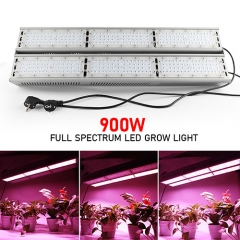 2018 Newest 900W Full Spectrum LED Grow Lights for Cannabis,Greenhouse Hydroponic Indoor Plants Veg and Flower