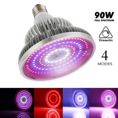 90W Four Modes Full Spectrum LED Grow Lights  Best for Marijuana,Greenhouse and Indoor Plants