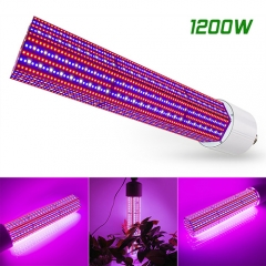 1200W Full Spectrum LED Corn Growing Lights,360° Fit for Marijuana, Indoor Plants