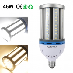 45W Super Bright LED Corn Bulbs Best For Outdoor Garage Factory Warehouse Barn Backyard and More