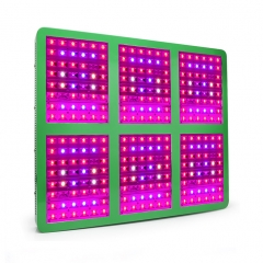 1800W  Full Spectrum LED Grow Lights,288pcs with Reflector 120°Chips for Greenhouse Hydroponic Indoor Plants Veg and Flower
