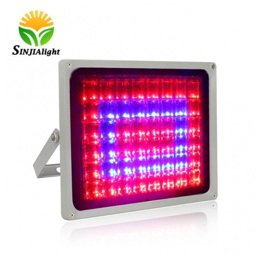 100W 48Integrated LED Chips Waterproof LED Plant Grow Flood Light - SINJIAlight