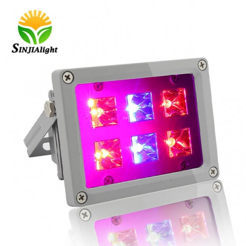 12W 6Integrated LED Chips Waterproof LED Plant Grow Flood Light - SINJIAlight