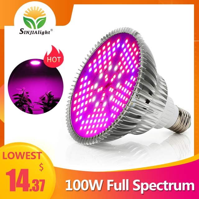 100W 150leds Full Spectrum Indoor Grow Light - SINJIAlight