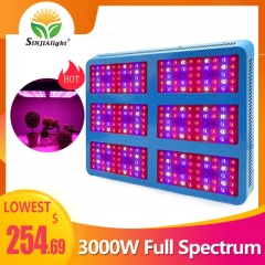 3000W 300leds Full spectrum Reflector Grow Light - SINJIAlight