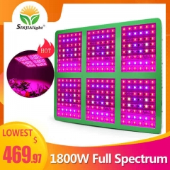 1800W 288leds Growth/Bloom/Full Spectrum Grow Light - SINJIAlight