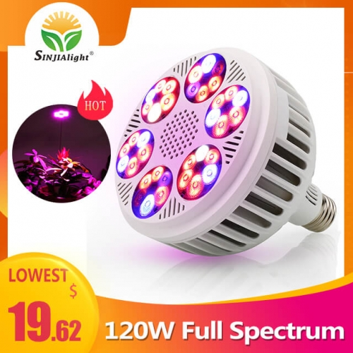 120W 36leds Full Spectrum Indoor Grow Light - SINJIAlight