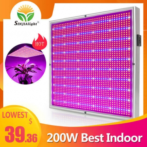 200W 2000leds Dimmable Grow Light - SINJIAlight