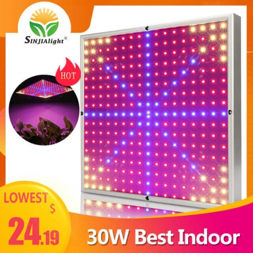 30W 290leds Indoor Panel Grow Light - SINJIAlight