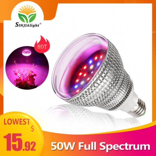 50W 28leds Full Spectrum Indoor Grow Light - SINJIAlight