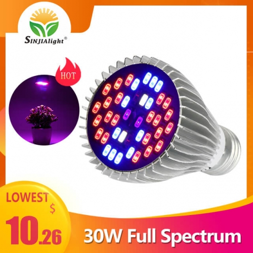 30W 40leds Full Spectrum Indoor Grow Light - SINJIAlight