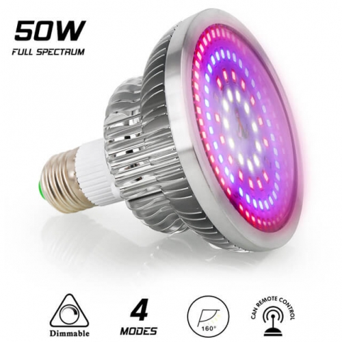 50W 108leds Full Spectrum Dimmable Grow Light - SINJIAlight