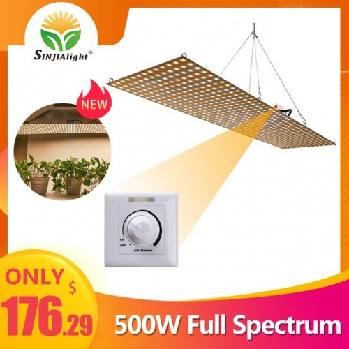 (Pre-order) 500W 598leds Dimmable Warm Full Spectrum Grow Light - SINJIAlight
