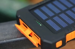 8000mAh Solar Charger Instant Charger Portable Power(Can Use DC 5V To Charge) For Cellphone and Tablets