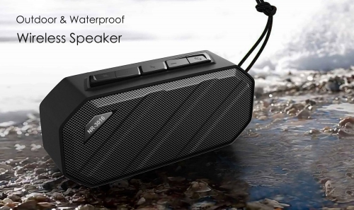 NewRixing NR-3016 Bluetooth Speaker Portable Wireless Mini Outdoor Prevent Splashing Water,Digital Multimedia Active Speaker For Mobile phone,Tablets
