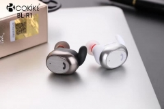 COKIKE BL-R1 Wireless Earphone Bluetooth Headset Manufacturer Mini High Quality In-Ear Stereo Single Earbud for Smartphone and Tablets
