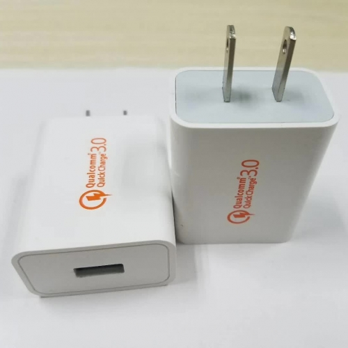 LH-KC001 QC3.0 Mix Plug Smart USB Fast Charger Power Adapter For Mobile phone and Tablets